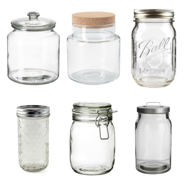 Jars for Storage
