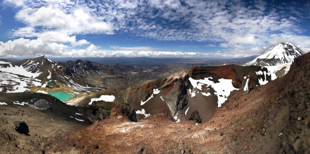 Photo of the Tongariro  National Park in New Zealand